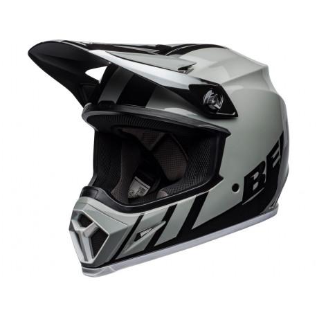 Casque BELL MX-9 Mips Dash Gray/Black/White