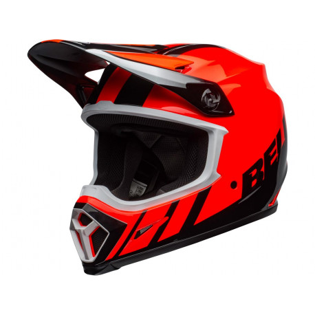 Casque BELL MX-9 Mips Dash Orange/Black