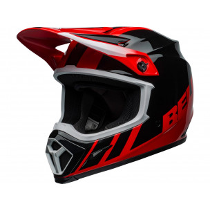 Casque BELL MX-9 Mips Dash Black/Red