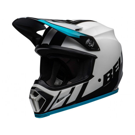 Casque BELL MX-9 Mips Dash White/Blue