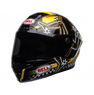 Casque BELL Star DLX Mips Isle of Man 2020 Gloss Black/Yellow