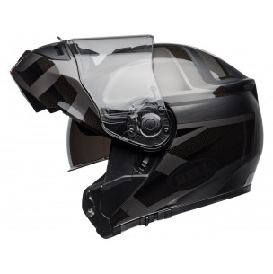 Casque BELL SRT Modular Predator Matte/Gloss Blackout