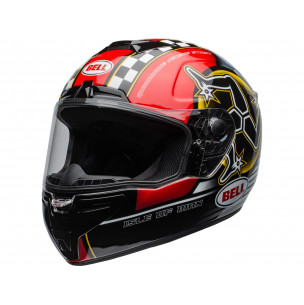Casque BELL SRT Isle of Man 2020 Gloss Black/Red