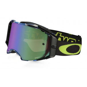 Masque OAKLEY Airbrake MX Chad Reed Signature Series Speed Stripe écran Prizm MX Jade Iridium