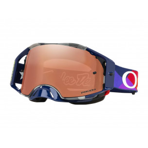 Masque OAKLEY Airbrake MX Troy Lee Designs Jet Pattern écran Prizm MX Black Iridium