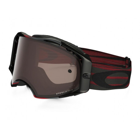 Masque OAKLEY Airbrake MX Nemesis Red/Gunmetal écran Prizm MX Black Iridium
