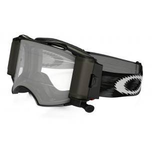 Masque OAKLEY Airbrake MX Race-Ready Roll-Off Jet Black Speed écran transparent