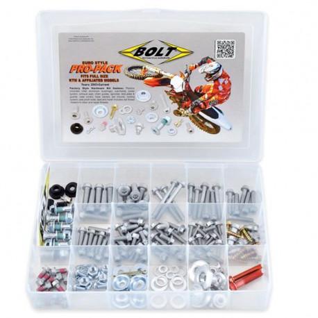 Kit visserie Pro Pack Bolt KTM et Husaberg