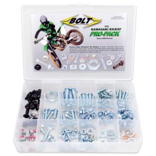 Kit visserie Pro Pack Bolt Kawasaki KX/KX-F 125 à 450