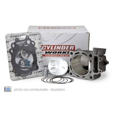 KIT CYLINDRE-PISTON CYLINDER WORKS POUR YAMAHA YZ250F '14-15, WRF 250 15-18 250CC Ø77MM