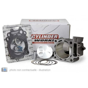 KIT CYLINDRE-PISTON CYLINDER WORKS POUR YAMAHA YZ250F '14-18, 250CC Ø77MM
