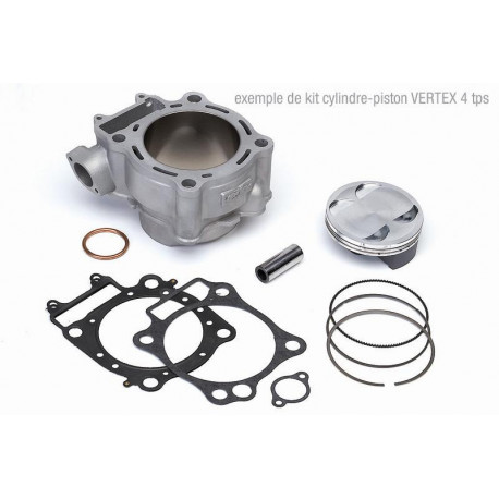 KIT CYLINDRE-PISTON CYLINDER WORKS POUR RM-Z250 '13-18, 250CC Ø77MM