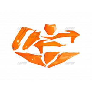 Kit plastiques UFO orange KTM SX/SX-F