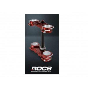 Té de fourche Rocs X-Trig Orange / bleu Husqvarna TC/TE/FE 125 & SX, XC-W, EXCF,SXF,EXC,EXCF,