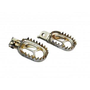 Repose-pieds SCAR Titane 57 MM de large - 18 dents