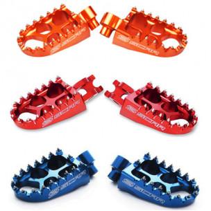 Repose-pieds SCAR Evolution bleu ou titane