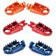 Repose-pieds SCAR Evo Rouge - Bleu - Titane