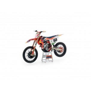 Modèle réduit 1:12ème KTM SX-F450 2019 Jorge Prado N°61