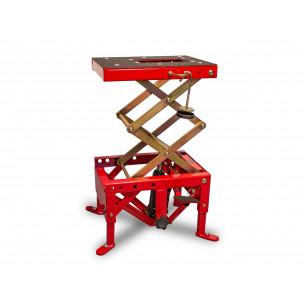 Lève-moto hydraulique BIHR rouge (roues non incluses)