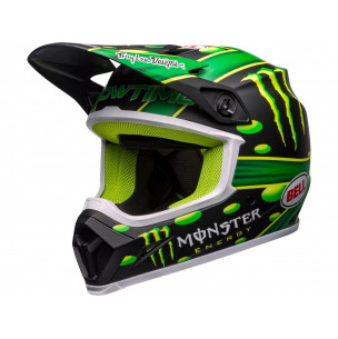 Casque BELL MX-9 Mips McGrath Showtime Replica Matte Black/Green