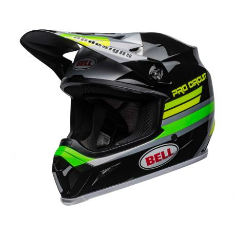 Casque BELL MX-9 Mips Pro Circuit 2020 Black/Green